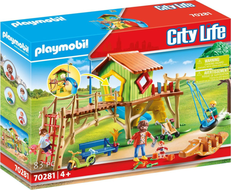 70281 Playmobil Avontuurlijke Speeltuin