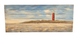 Beschilderd houten paneel
