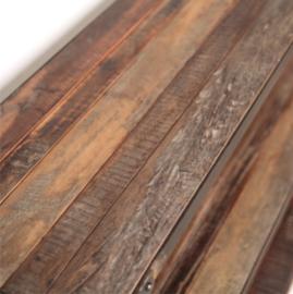 Sidetable van gerecycled hout
