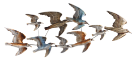 Metalen Wanddecoratie Vogels
