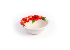 P030 Ronde diep schaal tomaat, klein