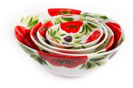 GB034 Organische schaal tomaat/olijf, medium