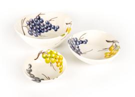EW42-14 Organische schaal druiven 14 cm NIEUW