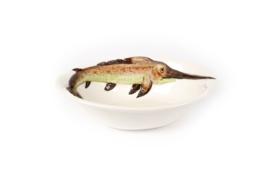 V020 Zwaardvis schaaltje diep klein NIEUW