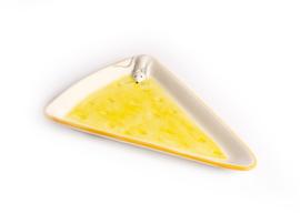 KA02 Bord kaas met muis, driehoek groot