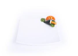 Sushi schaal vierkant