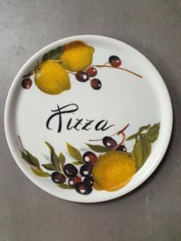 PZ03 Pizzabord porselein citroen en olijven