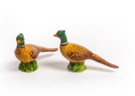 Peper- en zoutsetje fazant