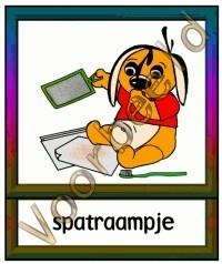 Spatraampje - WERKMAT