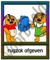 Rugzak afgeven - GEBR