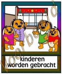 Kinderen worden gebracht - SCH