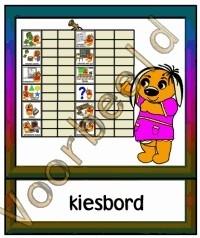 Kiesbord - MAT
