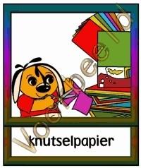 Knutselpapier - WERKMAT