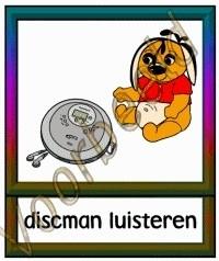 Discman luisteren