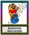 Boekentas neerzetten - GEBR