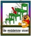 De middelste stoel - BEGR