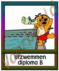 Afzwemmen diploma B