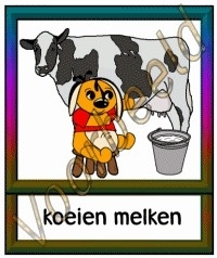 Koeien melken - DIE