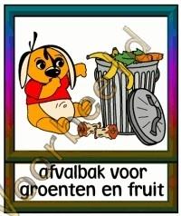 Afvalbak voor groente en fruit - MAT