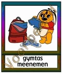 Gymtas meenemen - TK