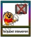 TV kabel inleveren - GEBR