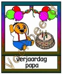 Verjaardag papa 2