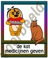 De kat medicijnen geven - DIE