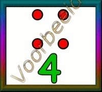 4 stippen