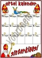 Aftelkalender - Sinterklaas