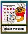 Sticker verdiend - GEBR