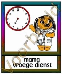 Mama vroege dienst - BER