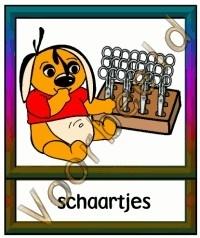 Schaartjes - WERKMAT