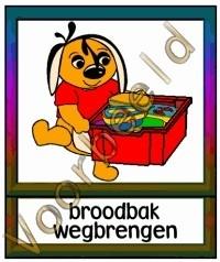 Broodbak wegbrengen - TK