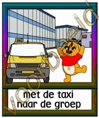 Met de taxi naar de groep - ZorgH