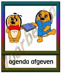 Agenda afgeven  - KLAS