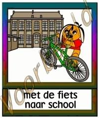 Met de fiets naar school - SCH