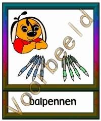 Balpennen - WERKMAT