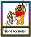 Hond borstelen - DIE