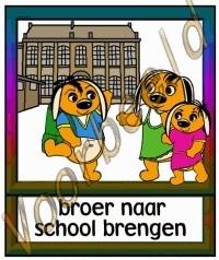 Broer naar school brengen - SCH
