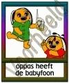Oppas heeft een babyfoon - GEBR