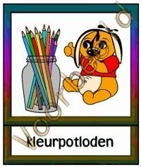 Kleurpotloden 2 - WERKMAT