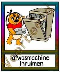 Afwasmachine inruimen - TK
