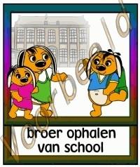 Broer ophalen van school - SCH