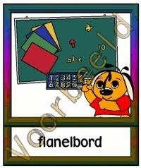 Flanelbord - MAT