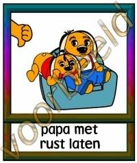 Papa met rust laten - GEBR
