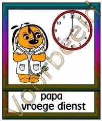 Papa vroege dienst - BER