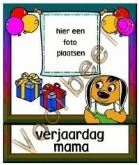 Verjaardag mama 1