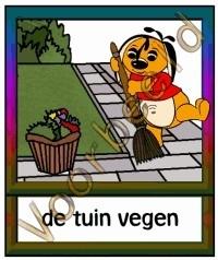 De tuin vegen - TK