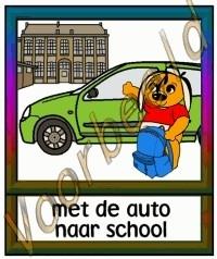 Met de auto naar school 2 - SCH