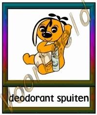 Deodorant spuiten - VERZ